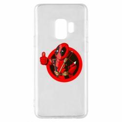 Чехол для Samsung S9 Deadpool Fallout Boy