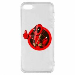Чехол для iPhone5/5S/SE Deadpool Fallout Boy