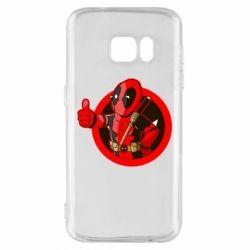 Чехол для Samsung S7 Deadpool Fallout Boy