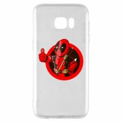 Чехол для Samsung S7 EDGE Deadpool Fallout Boy