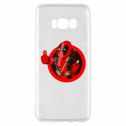Чехол для Samsung S8 Deadpool Fallout Boy