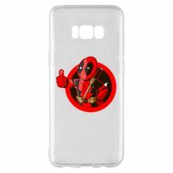 Чехол для Samsung S8+ Deadpool Fallout Boy