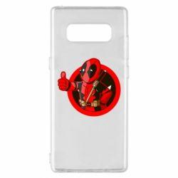 Чехол для Samsung Note 8 Deadpool Fallout Boy