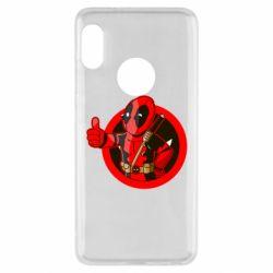Чехол для Xiaomi Redmi Note 5 Deadpool Fallout Boy