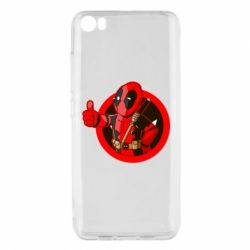 Чехол для Xiaomi Mi5/Mi5 Pro Deadpool Fallout Boy