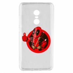 Чехол для Xiaomi Redmi Note 4 Deadpool Fallout Boy