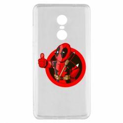 Чехол для Xiaomi Redmi Note 4x Deadpool Fallout Boy