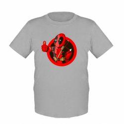 Детская футболка Deadpool Fallout Boy - FatLine