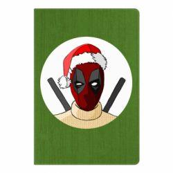 Блокнот А5 Deadpool in New Year's hat