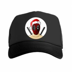 Кепка-тракер Deadpool in New Year's hat