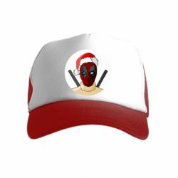 Детская кепка-тракер Deadpool in New Year's hat