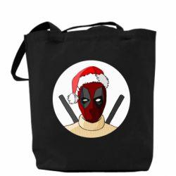Сумка Deadpool in New Year's hat