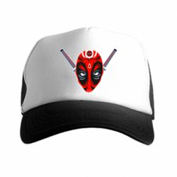 Кепка-тракер Deadpool Kabuki Mask - FatLine