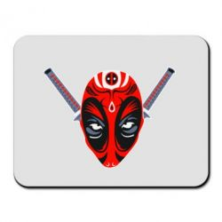 Коврик для мыши Deadpool Kabuki Mask - FatLine