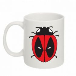 Кружка 320ml Deadpool-ladybug - FatLine