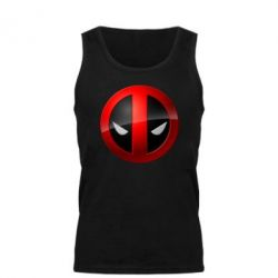 Мужская майка Deadpool Logo - FatLine