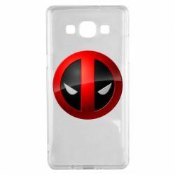 Чехол для Samsung A5 2015 Deadpool Logo