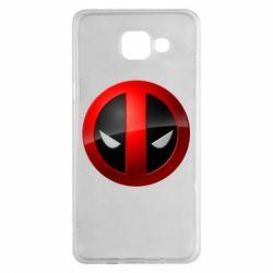 Чехол для Samsung A5 2016 Deadpool Logo
