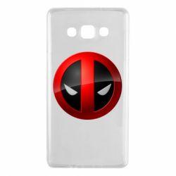 Чехол для Samsung A7 2015 Deadpool Logo