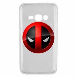 Чехол для Samsung J1 2016 Deadpool Logo