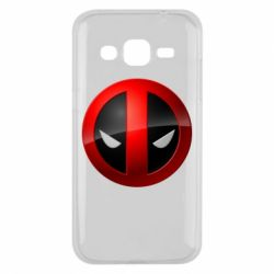 Чехол для Samsung J2 2015 Deadpool Logo