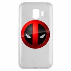 Чехол для Samsung J2 2018 Deadpool Logo