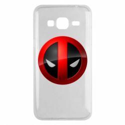 Чехол для Samsung J3 2016 Deadpool Logo