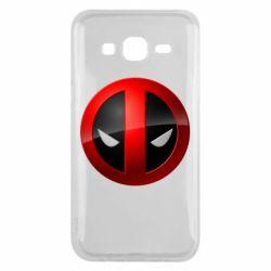 Чехол для Samsung J5 2015 Deadpool Logo