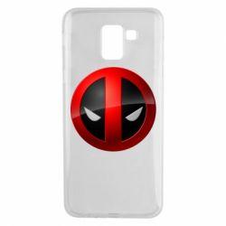 Чехол для Samsung J6 Deadpool Logo