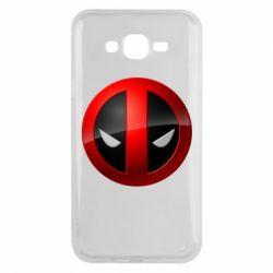 Чехол для Samsung J7 2015 Deadpool Logo