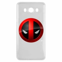 Чехол для Samsung J7 2016 Deadpool Logo