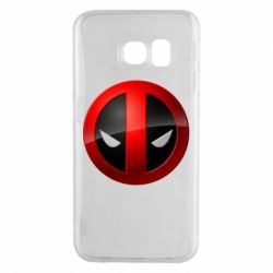 Чохол для Samsung S6 EDGE Deadpool Logo