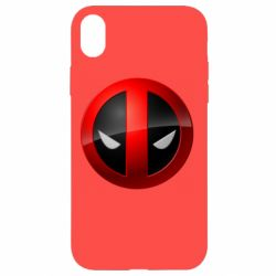 Чохол для iPhone XR Deadpool Logo