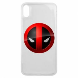 Чохол для iPhone Xs Max Deadpool Logo