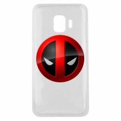 Чехол для Samsung J2 Core Deadpool Logo