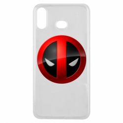 Чехол для Samsung A6s Deadpool Logo