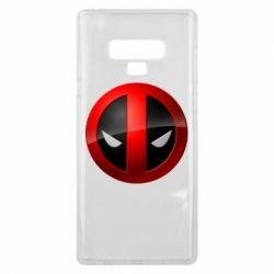 Чохол для Samsung Note 9 Deadpool Logo