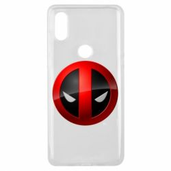 Чохол для Xiaomi Mi Mix 3 Deadpool Logo