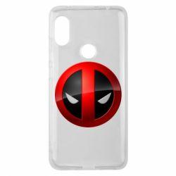 Чехол для Xiaomi Redmi Note 6 Pro Deadpool Logo