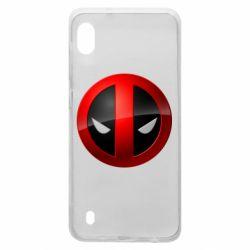 Чехол для Samsung A10 Deadpool Logo