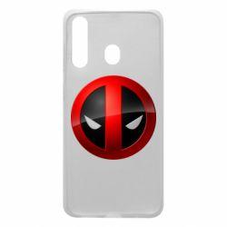 Чехол для Samsung A60 Deadpool Logo