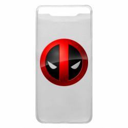 Чехол для Samsung A80 Deadpool Logo