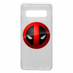 Чехол для Samsung S10 Deadpool Logo