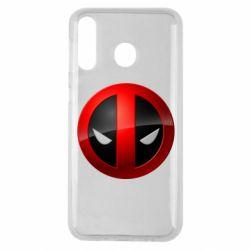 Чехол для Samsung M30 Deadpool Logo