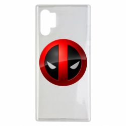 Чохол для Samsung Note 10 Plus Deadpool Logo