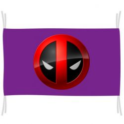 Прапор Deadpool Logo