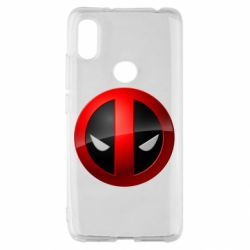 Чехол для Xiaomi Redmi S2 Deadpool Logo