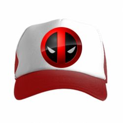 Кепка-тракер Deadpool Logo - FatLine