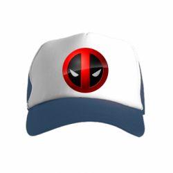 Детская кепка-тракер Deadpool Logo