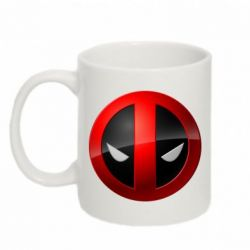 Кружка 320ml Deadpool Logo - FatLine